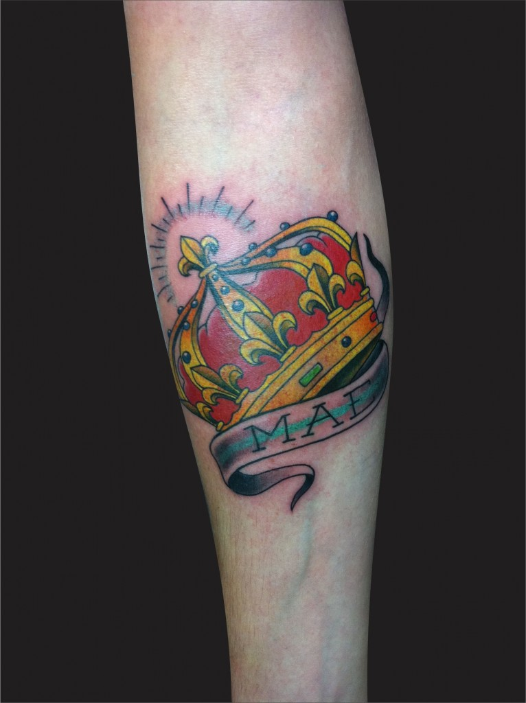 Heart Crown Tattoo Meaning