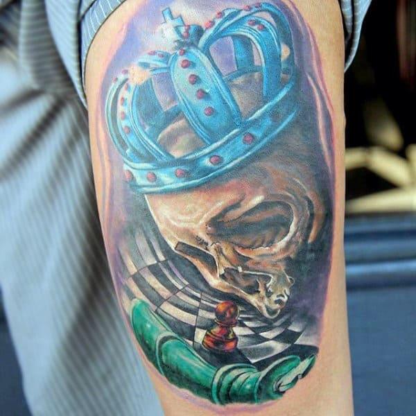Latin Kings Crown Tattoo