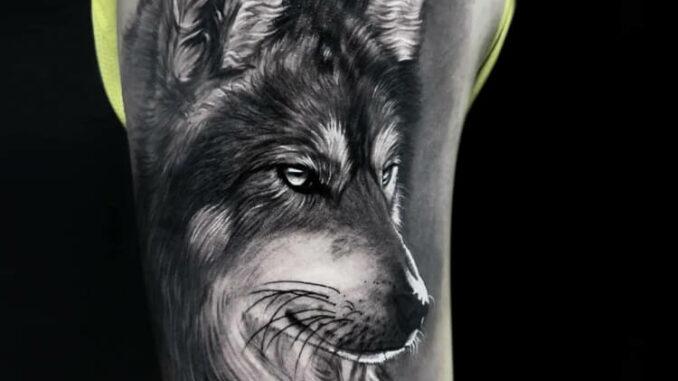 Animal Tattoos Black and White