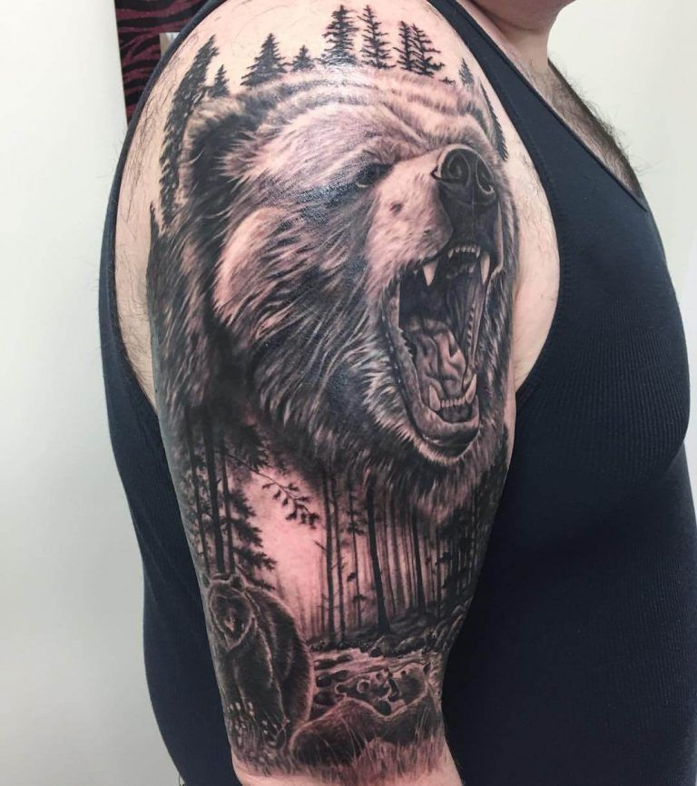 bears tattoos