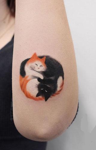 small animal tattoos