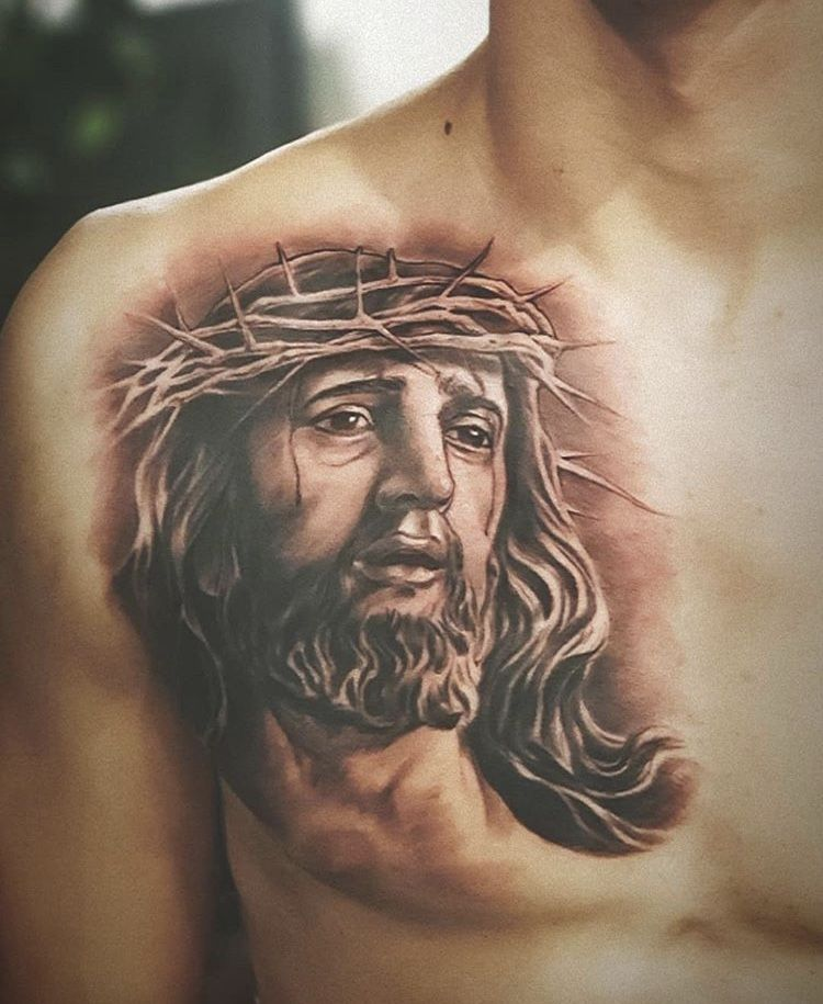 Jesus Christ Tattoos